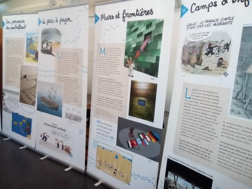 Exposition Tous Migrants [Panneaux]