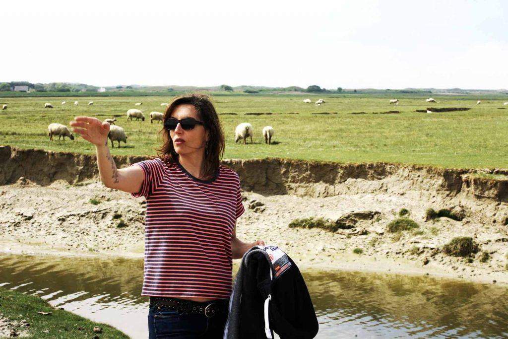 Tournage - Stéphanie Maubé - Bergère - Réalisatrice Delphine détrie- St germain - www.adelinekeil.eu