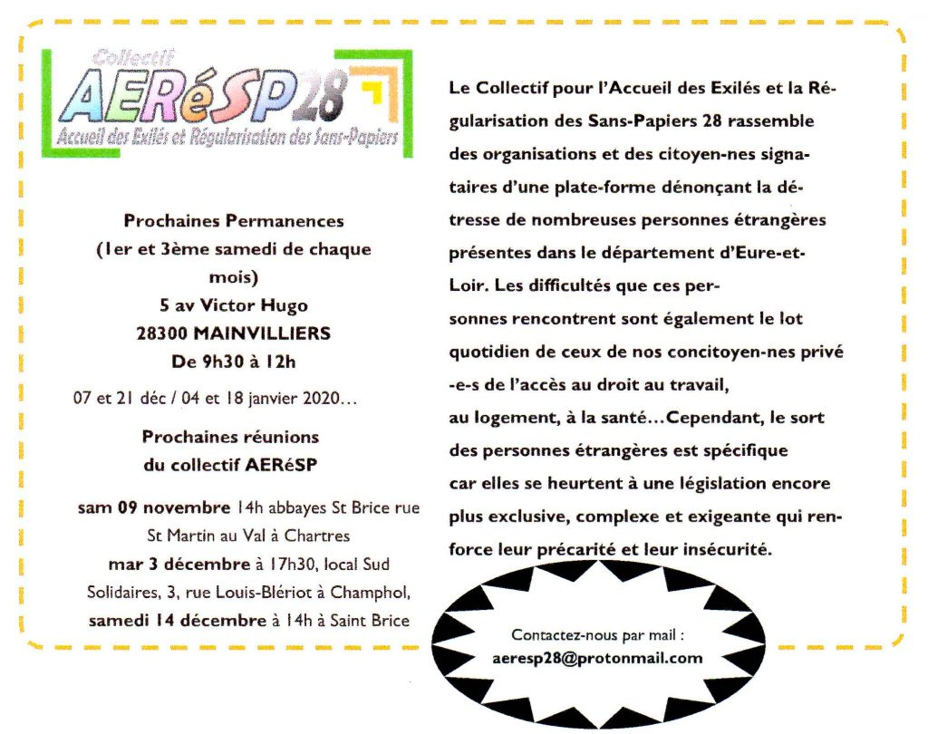 AERéSP 28 Présentation