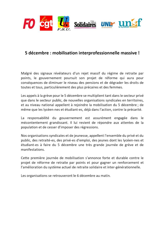 20191129-Appel-commun-national-pour-le-5-décembre-2019