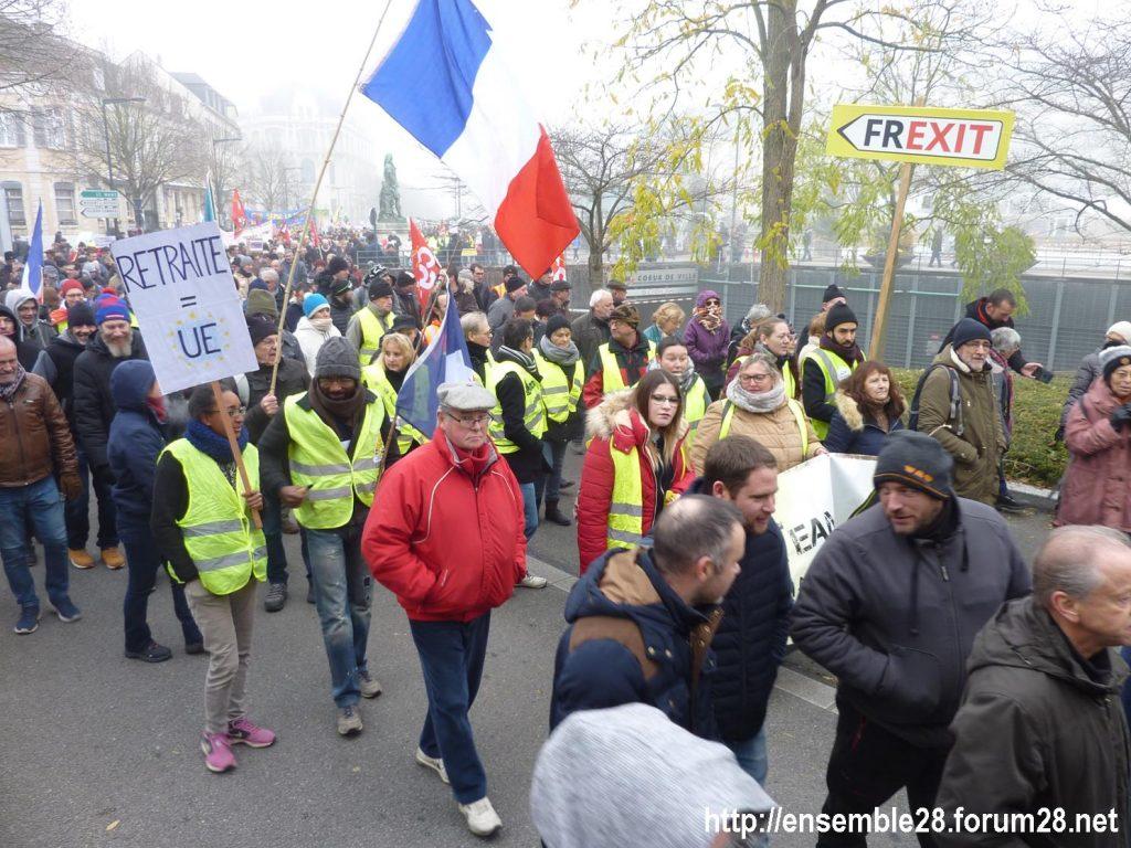 Chartres 05-12-2019 Manifestation Retraites 06