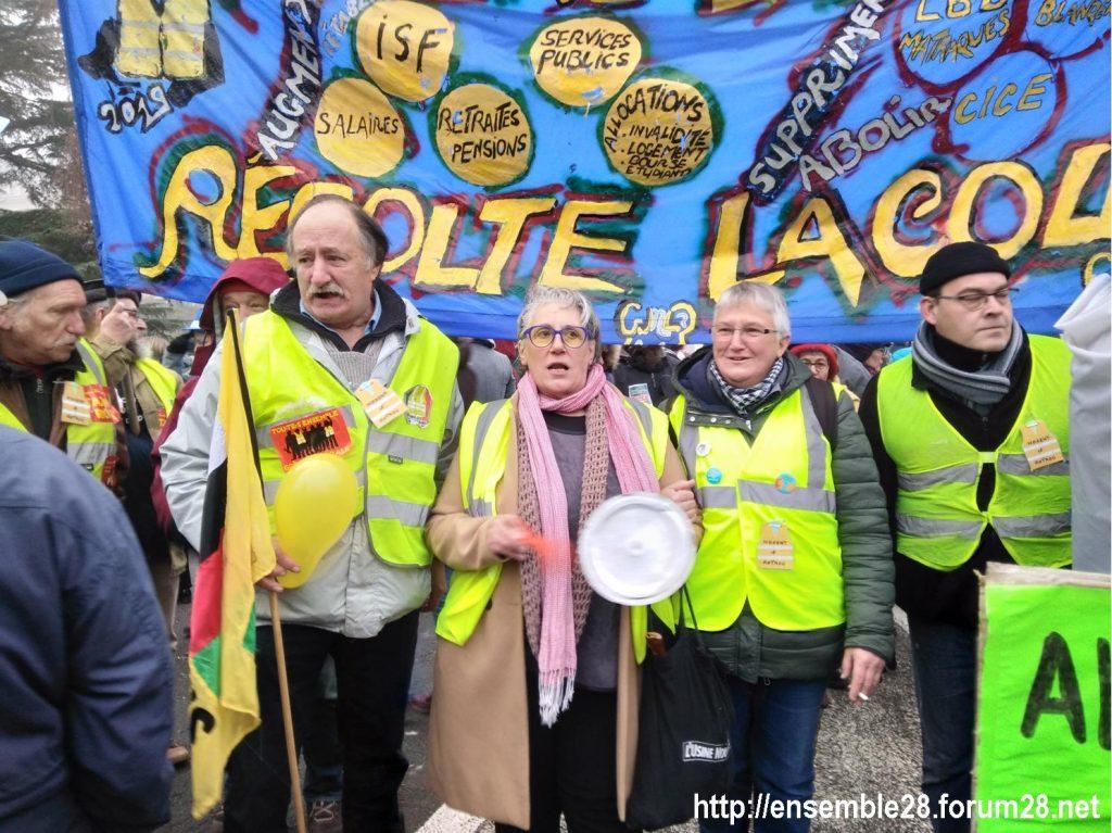 Chartres 05-12-2019 Manifestation Retraites 19