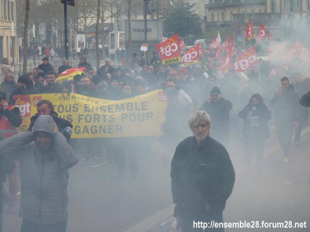 Chartres 10-12-2019 Manifestation Retraites 05