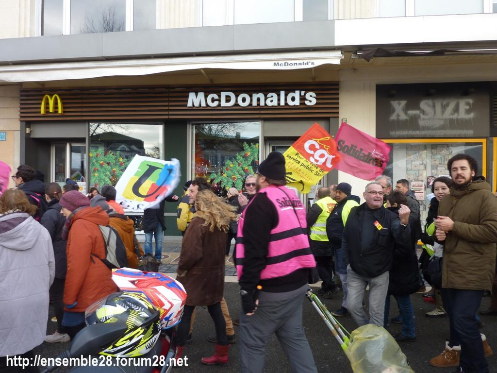 Chartres 14-12-2019 Manifestation Retraites 08