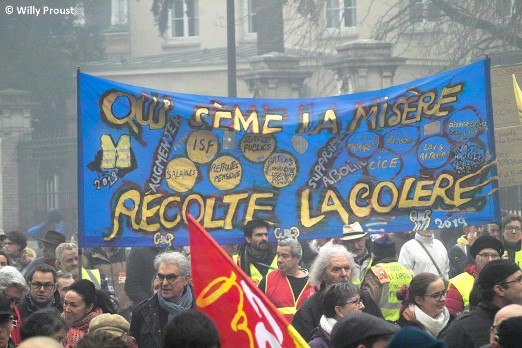 Chartres 17-12-2019 Manifestation Retraites [Photo Willy Proust] 04