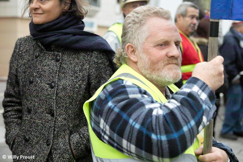 Chartres 17-12-2019 Manifestation Retraites [Photo Willy Proust] 06
