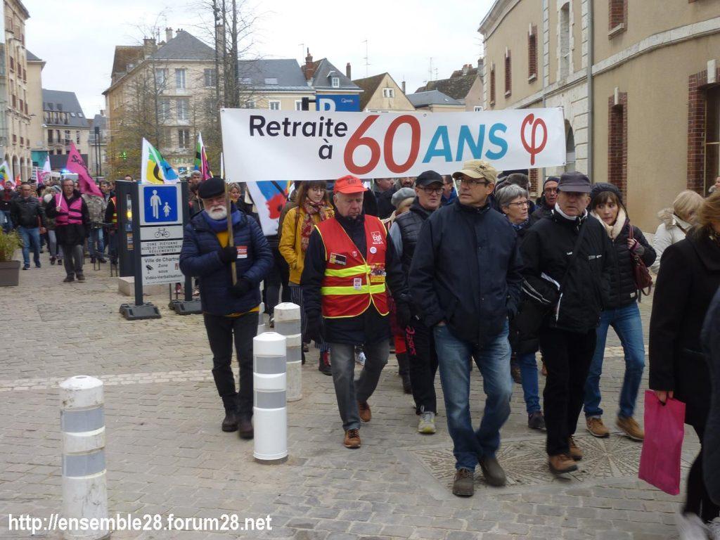 Chartres 28-12-2019 Rassemblement-Manifestation Retraites 05