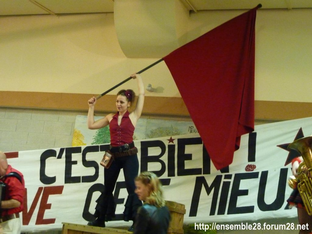 Champhol 16-01-2020 Jolie Môme Solidarité Grévistes 02