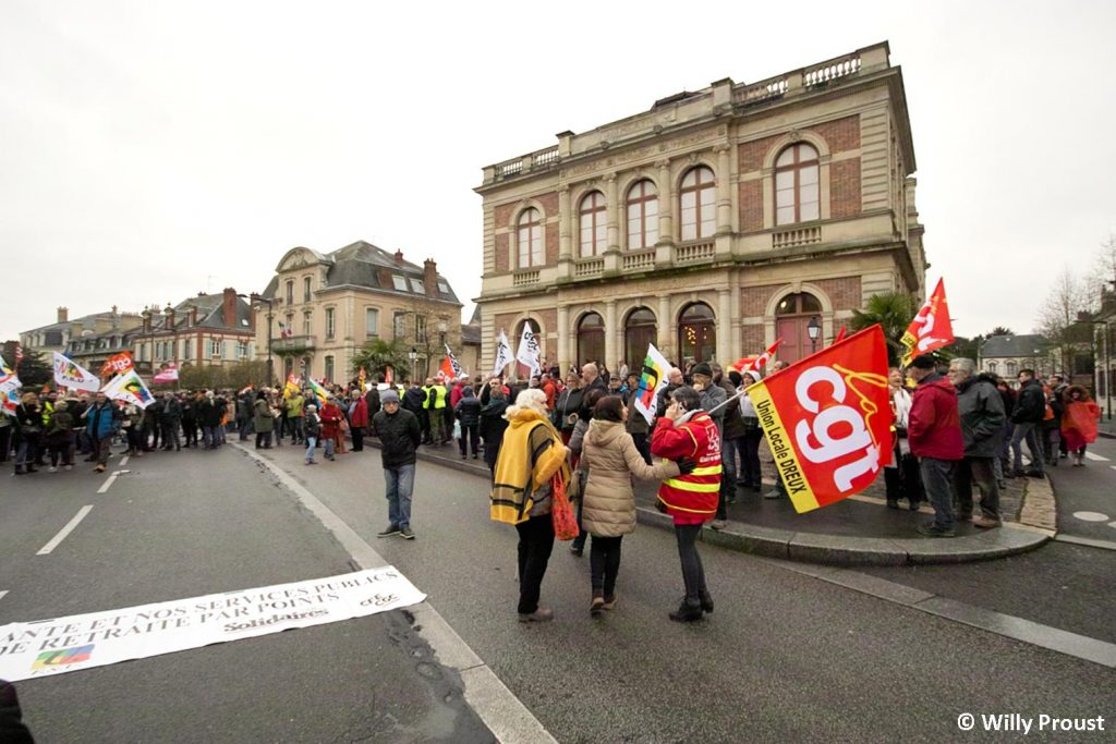 Chartres 09-01-2020 Manifestation Retraites [Willy Proust 01]