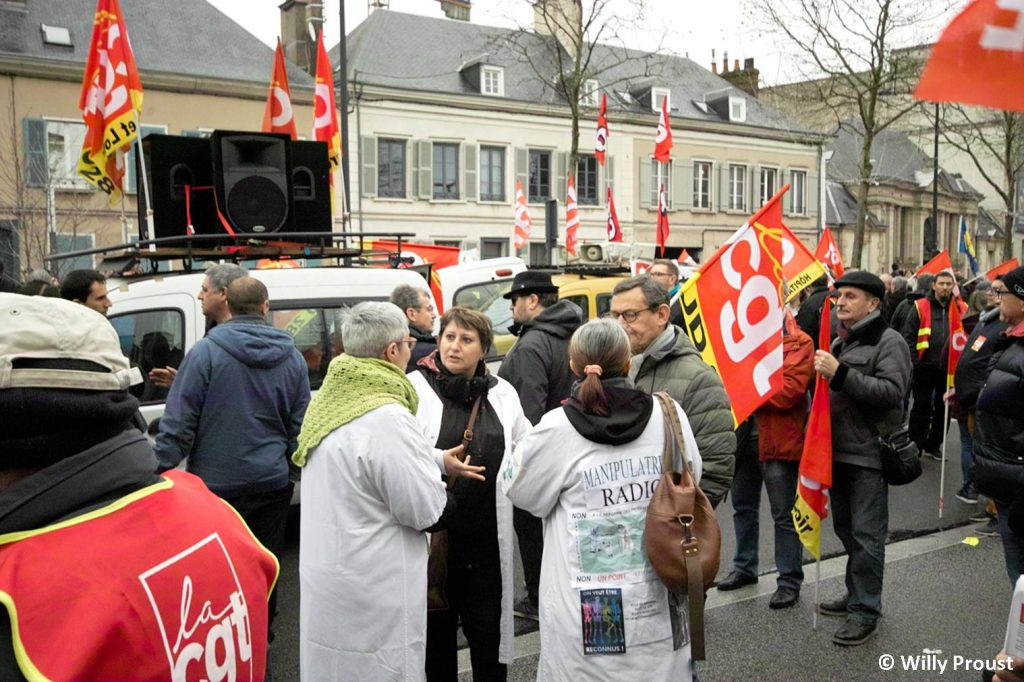 Chartres 09-01-2020 Manifestation Retraites [Willy Proust 03]