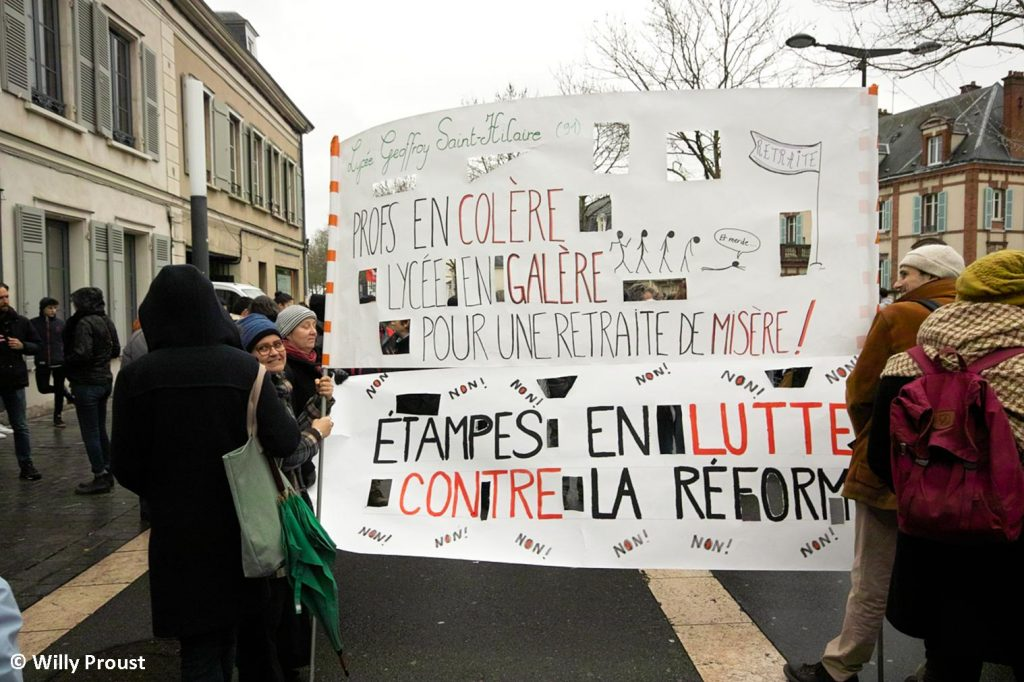 Chartres 09-01-2020 Manifestation Retraites [Willy Proust 05]