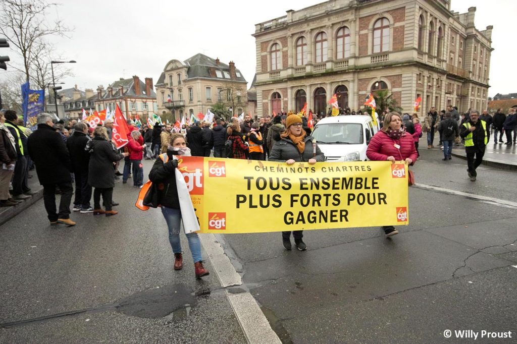 Chartres 09-01-2020 Manifestation Retraites [Willy Proust 06]