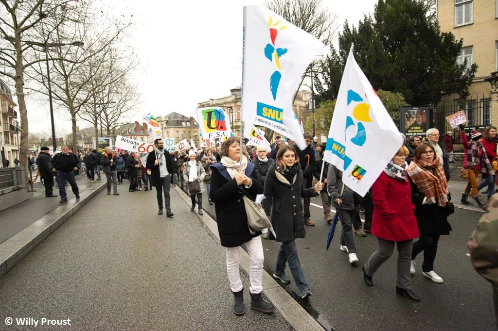 Chartres 09-01-2020 Manifestation Retraites [Willy Proust 07]
