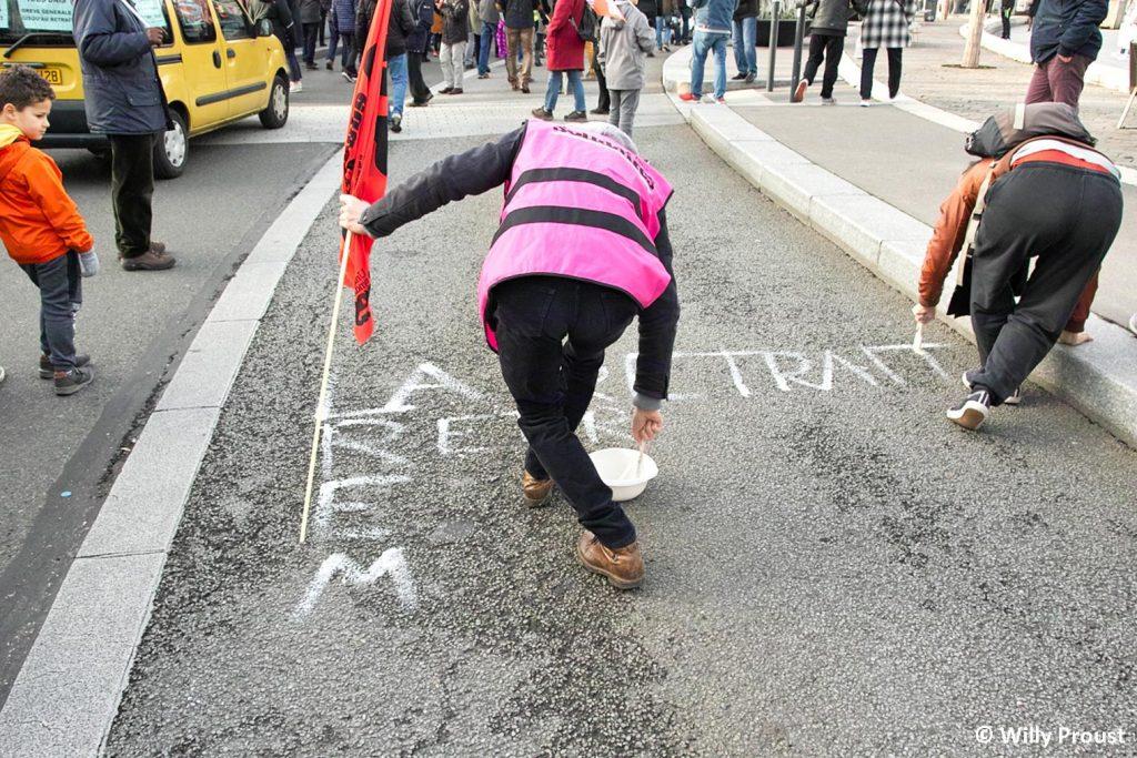 Chartres 11-01-2020 Manifestation Retraites [Willy 06]