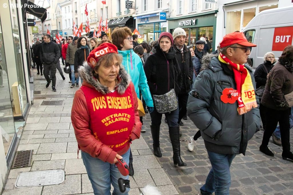 Chartres 11-01-2020 Manifestation Retraites [Willy 07]