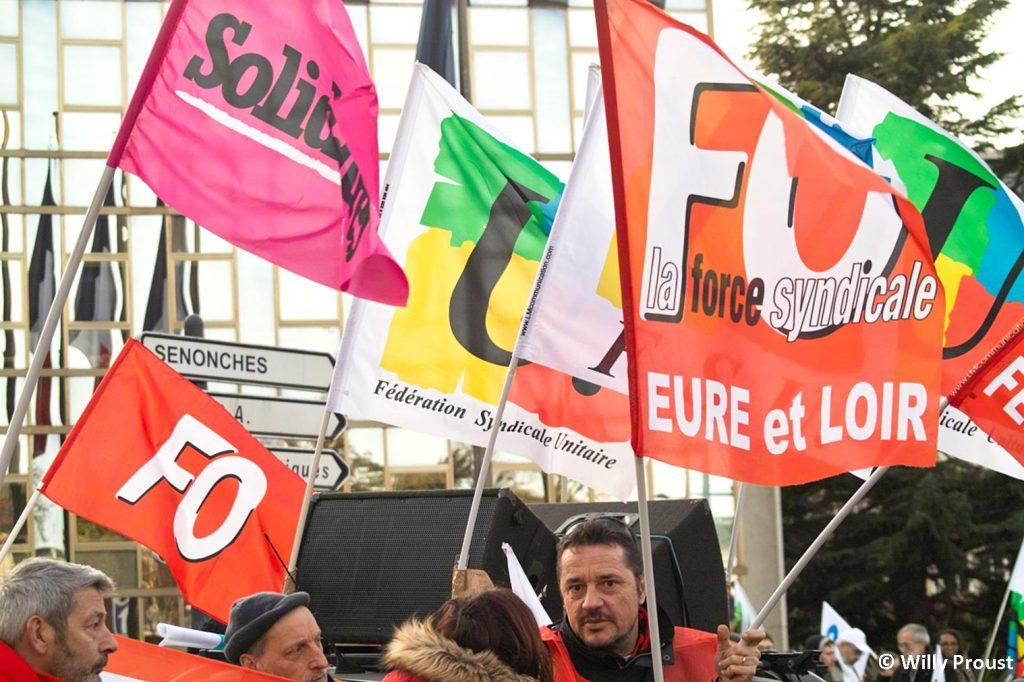 Chartres 11-01-2020 Manifestation Retraites [Willy 13]