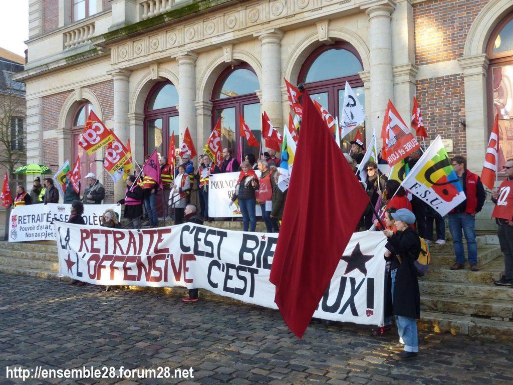 Chartres 16-01-2020 Manifestation Retraites 13
