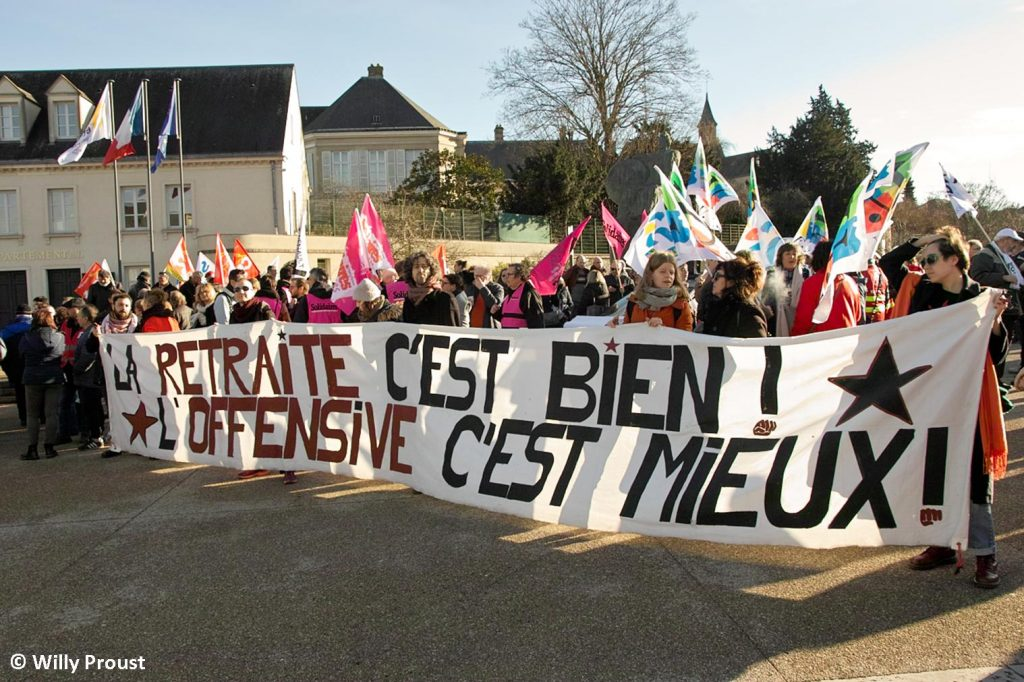Chartres 16-01-2020 Manifestation Retraites 15 [©Willy Proust]
