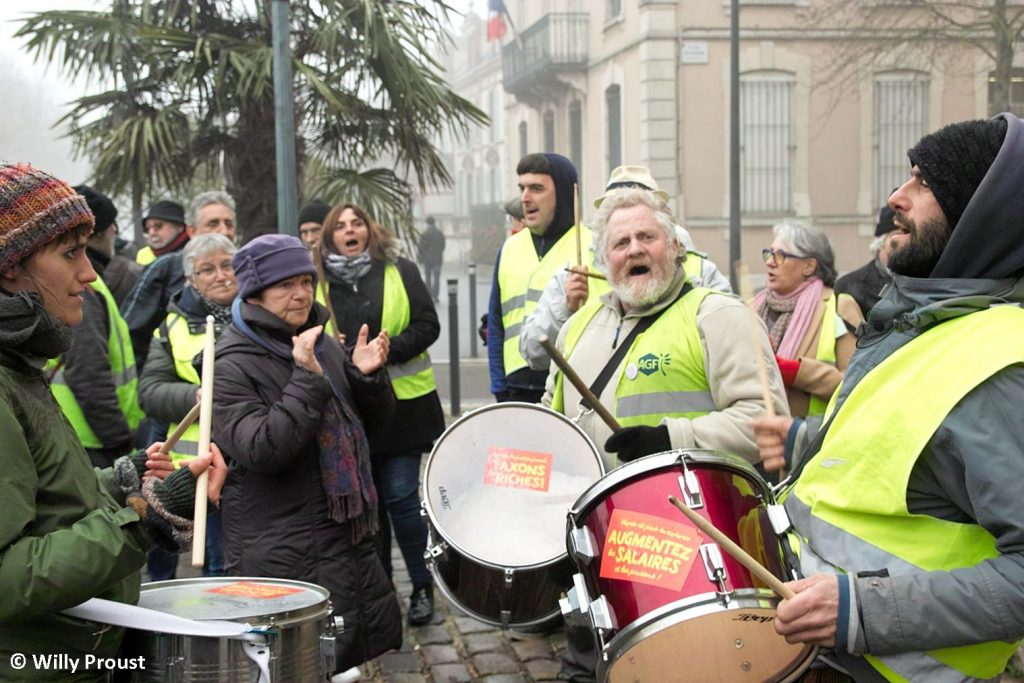 Chartres 24-01-2020 Manifestation Retraites 25 [©Willy Proust]