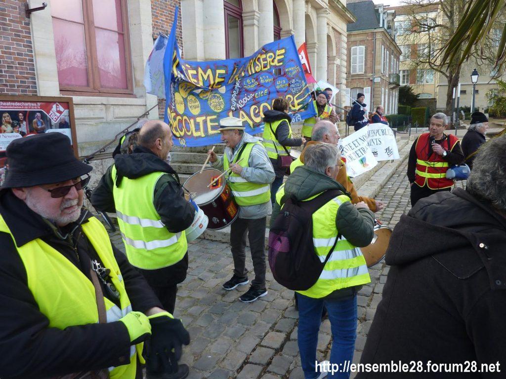 Chartres 29-01-2020 Manifestation Retraites 12
