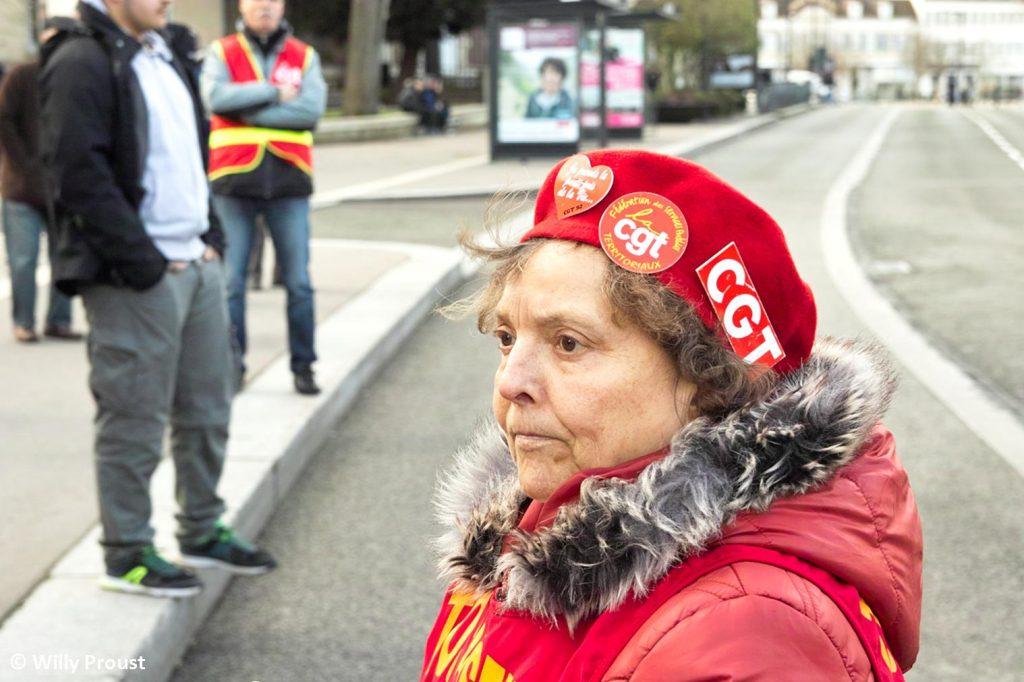 Chartres 29-01-2020 Manifestation Retraites 14 [Photo Willy Proust]