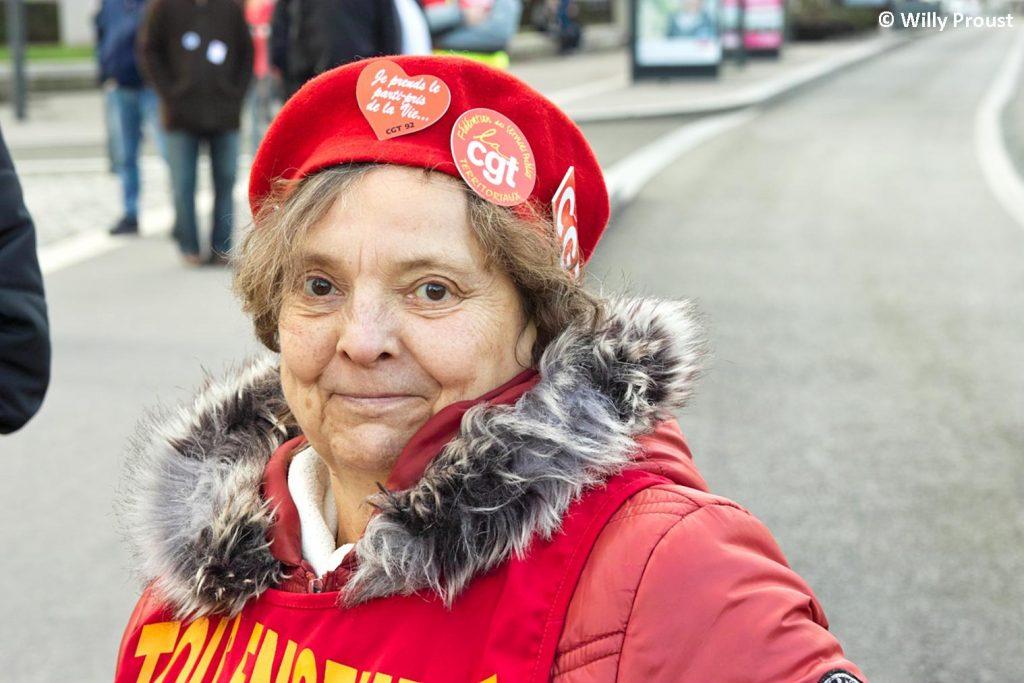 Chartres 29-01-2020 Manifestation Retraites 15 [Photo Willy Proust]