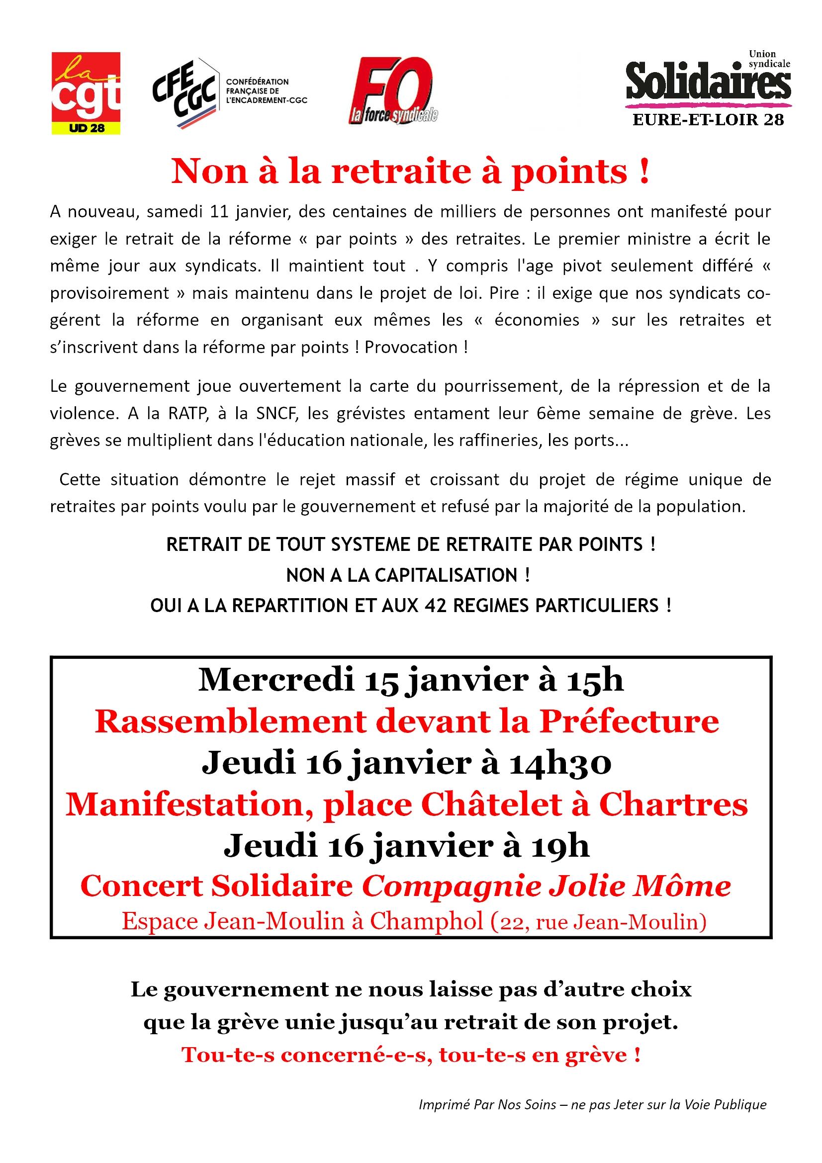 Intersyndicale 28 Appel-pour-14-15-16-janvier