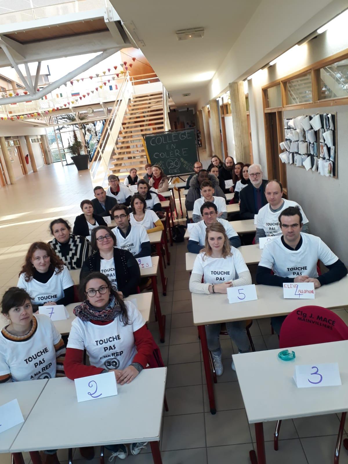 Mainvilliers 28-01-2020 FCPE Opération Collège Jean-Macé Mort [2]
