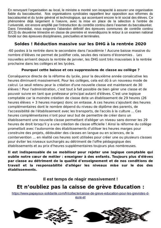 Tract SUD-Éducation pour 24 janvier V