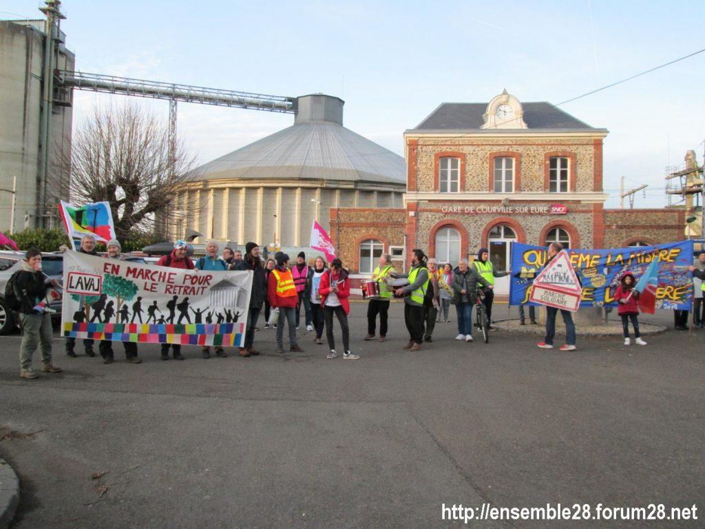 Courville 21-02-2020 Marche Retraites Laval-Paris 1