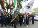 Manifestation à Tizi Ouzou [Photo Jean-François Le Dizès ]