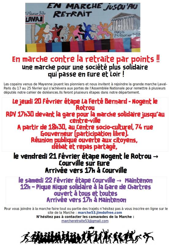 Marche 53 Eure-et-Loir [Affiche]