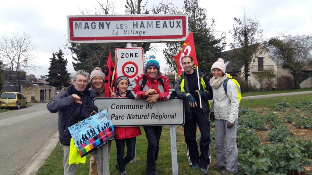 Marche 53 Magny-les-Hameaux Entrée