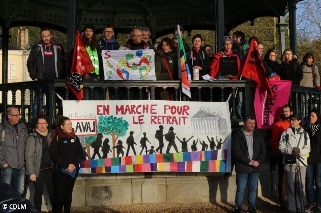 Marche Laval-Paris Départ de Laval 17-02-2020 [Photo CDLM-1]