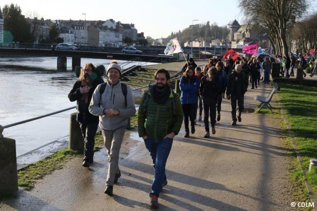 Marche Laval-Paris Départ de Laval 17-02-2020 [Photo CDLM-2]