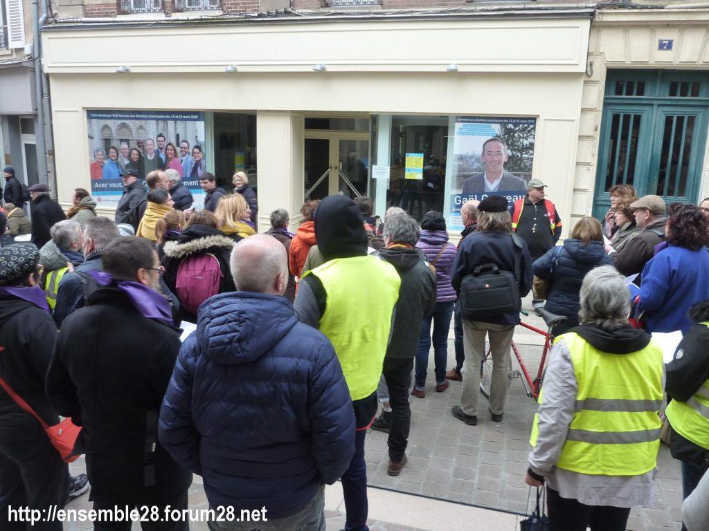 Chartres 07-03-2020 Droits des Femmes Hymne 10