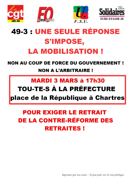 Communique_intersyndicale_E&L pour 03-03-2020