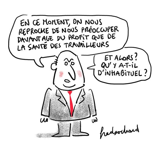 Bizness as usual [Fred Sochard]