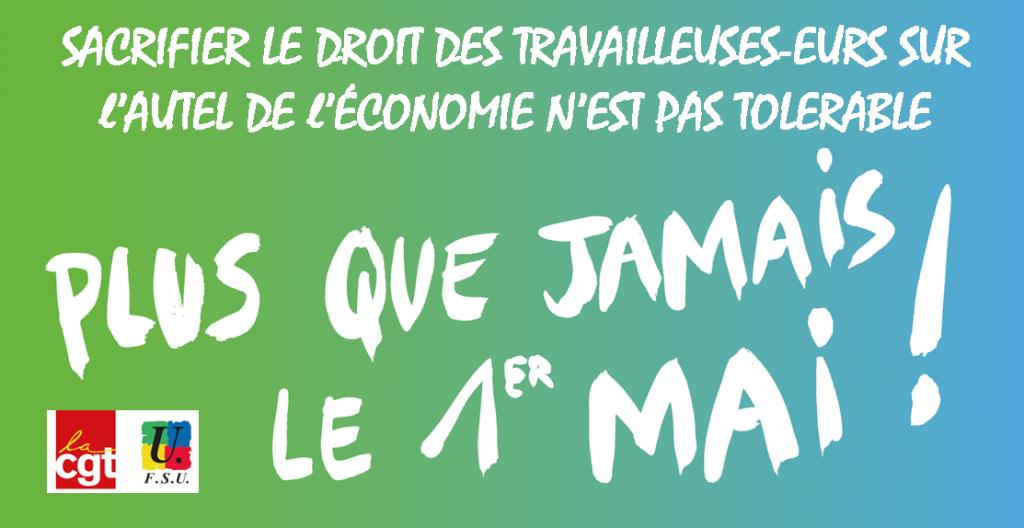 CGT FSU visuel-1er-mai-économie