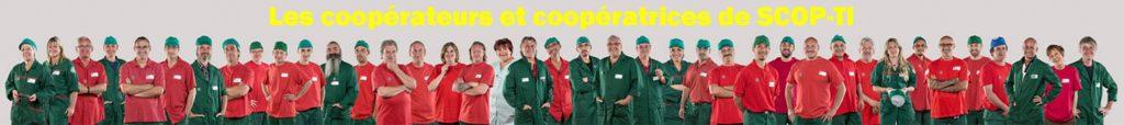 Coopérateurs de SCOP-TI