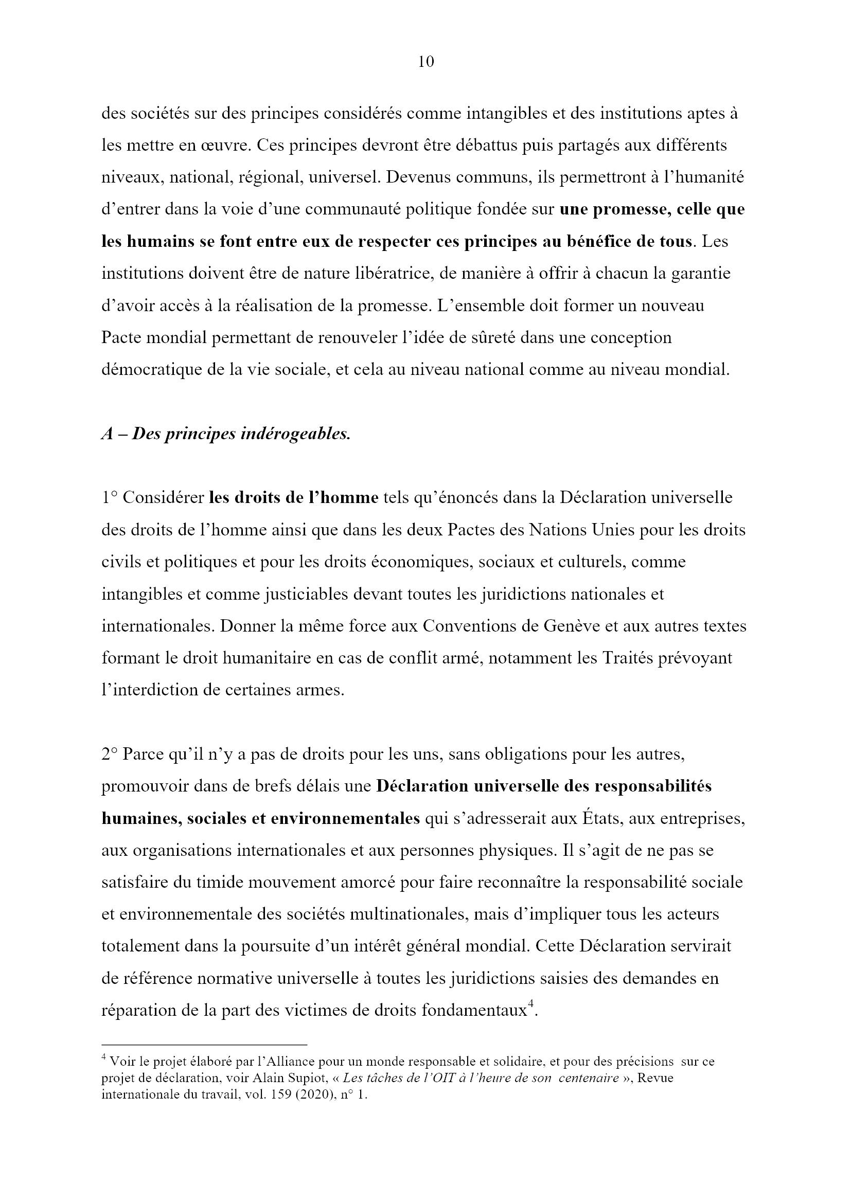 Des jours heureux... Monique Chemillier-Gendreau 10x16