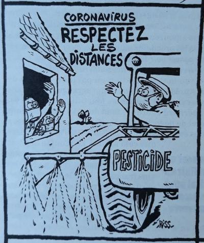 Respectez les distances