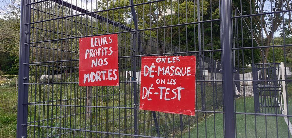 Montreuil 1er Mai 2020