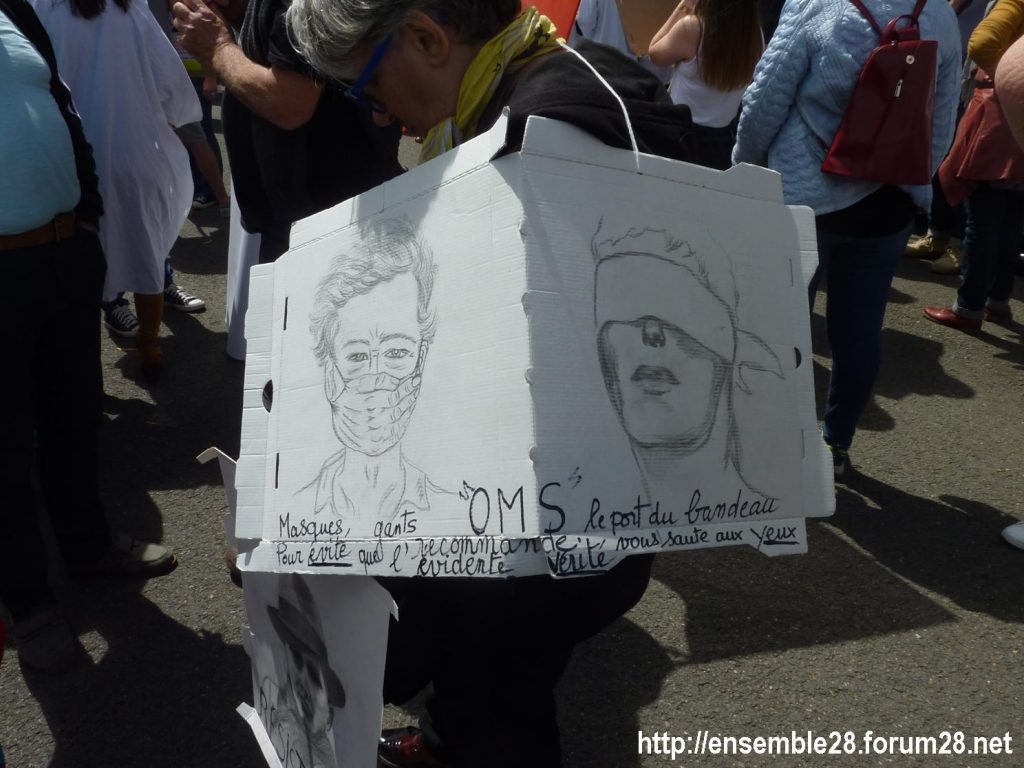 Chartres 16-06-2020 Manifestation Soignants Santé 06