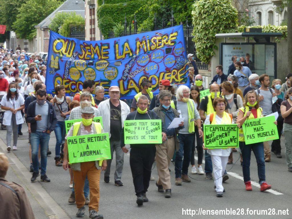 Chartres 16-06-2020 Manifestation Soignants Santé 14