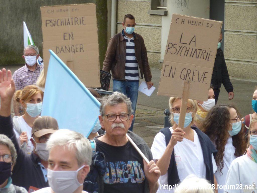 Chartres 16-06-2020 Manifestation Soignants Santé 16
