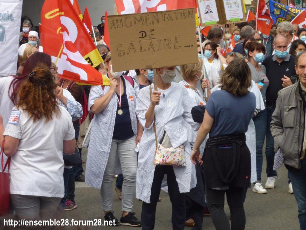 Chartres 16-06-2020 Manifestation Soignants Santé 18