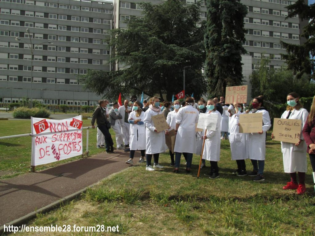 Dreux 16-06-2020 Manifestation Soignants Santé 02