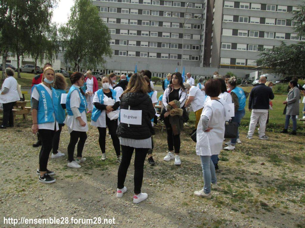 Dreux 16-06-2020 Manifestation Soignants Santé 03