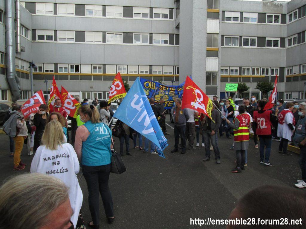 Dreux 16-06-2020 Manifestation Soignants Santé 15
